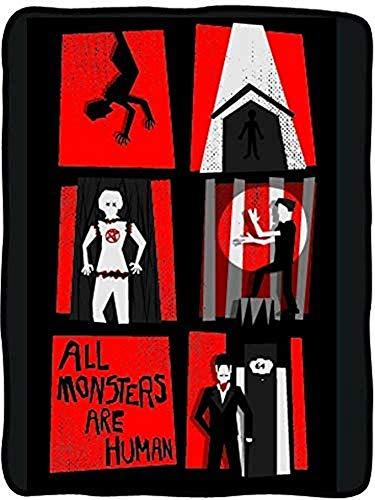 utong Amerikanische Horrorgeschichte der klassischen Importe Alle Monster sind menschliche Fleecedecke