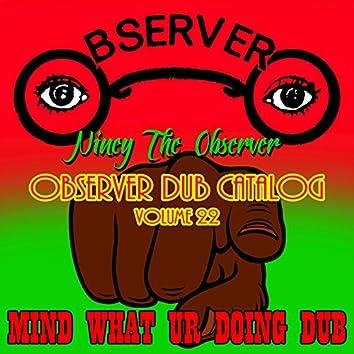 Observer Dub Catalog, Vol. 22 - Mind What Ur Doing Dub