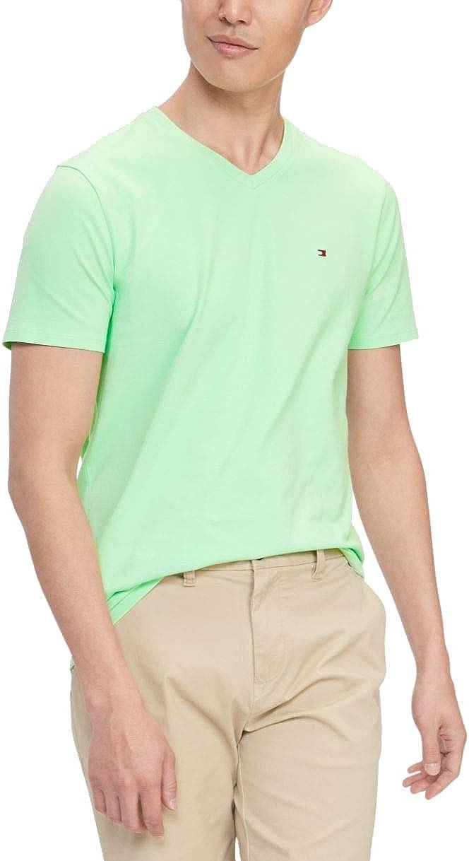 Tommy Hilfiger Popular popular Denim Men's Original V-Neck Branded goods Short T-Shirt Sleeve