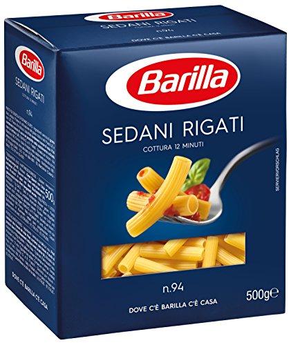 Barilla - Sedani Rigati, Cocina 12 minutos - 10 piezas de 500...