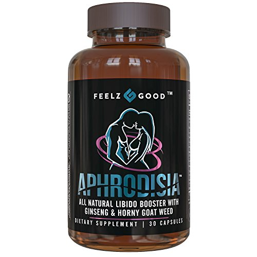 aphrodisia - Horny Goat Weed Herbal Complex Extract for Men and Women – Ginseng Maca Root Tongkat Ali Powder – 30 1000mg Optimum Dosage Capsules – Energy Stamina Performance – Made in the USA