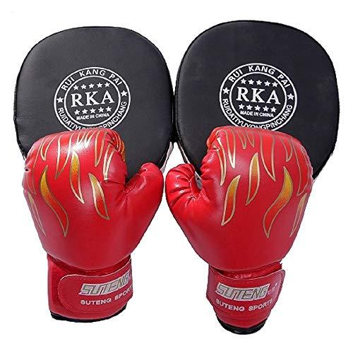 パンチング ミット ボクシング 黒 ストレス 解消 2個セット