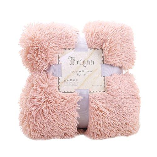 Godagoda Kuscheldecke 130x160cm Flauschige Weiche Leichte Zweiseitige Sofadecke Fleece Decke Felldecke Tagesdecke Überwurf Wohndecke Blanket für Sofa Bett