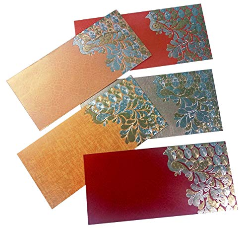 PARTH IMPEX Premium Shagun Gift Envelop voor contant geld (Pack van 50) 7.5