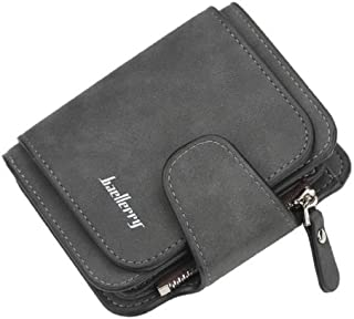 Baellirry Wallet Woman Card Holder Clutch Casual Black