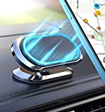 Magnetic Phone Car Mount【Upgrade 8X Magnets】Strong Magnet Holder,Air Vent 360° Rotation &...