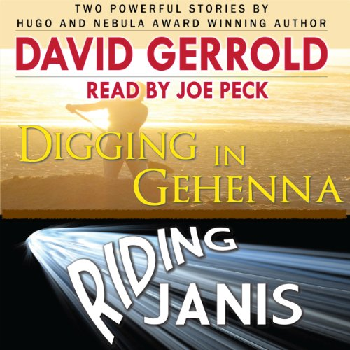 Digging in Gehenna/Riding Janis audiobook cover art