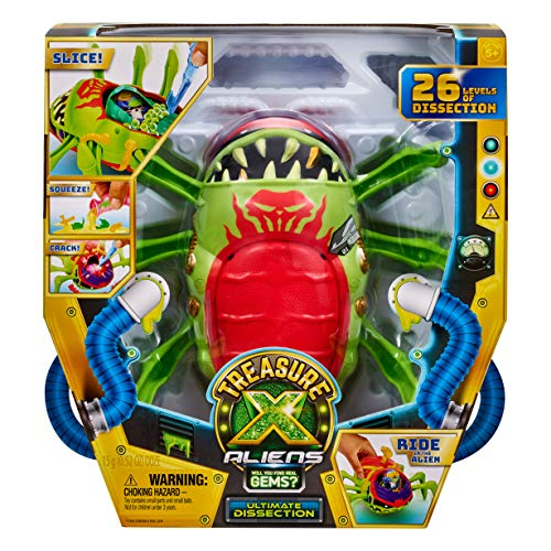 Treasure X Aliens Ultimate Dissection Kit - 26 Levels - Contains 14 Pieces for Kids, Easy Instructions | Interactive Fun for All, Treasure Hunter