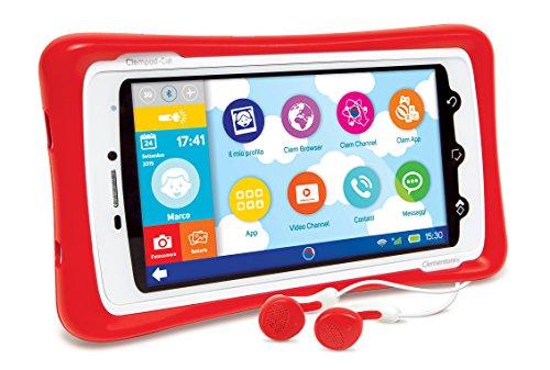 Clementoni 13943 ClemPad Call Tablet (telefono) + SIM, 5 , bluetooth 4.0 e GPS Integrato [versione 2015]