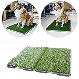 Hundetoilette dreistöckiger Rasen großer Hund automatische Spülung Pet Tablet Wc