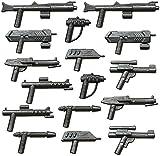 Galaxyarms - Ensemble d'Armes de 16 pièces:Set 7 avec différents Blaster et fusils, Jouets