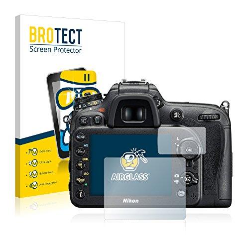 BROTECT Protector Pantalla Cristal Compatible con Nikon D7200 Protector Pantalla Vidrio - Dureza Extrema, Anti-Huellas, AirGlass