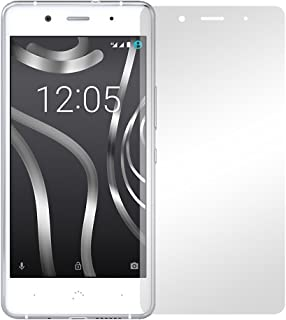 """2 st. slabo displayfolie för BQ Aquaris X5 Plus skärmskyddsfolie tillbehör """"Crystal Clear"""" klar – gjord i Tyskland"""