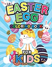 Easter Egg Coloring Book for Kids: Easter Coloring Book for Boys & Girls Age 4-8 (The Big Easter Egg Coloring Book for Kids)