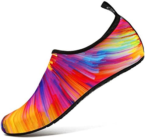 Colorful wedges shoes _image2
