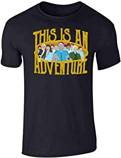 This is an Adventure Minimalist Short Sleeve T-Shirt