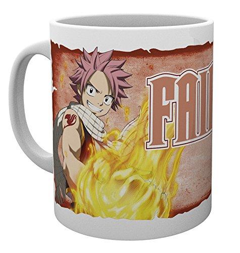 GB Eye Fairy Tail, Natsu Mug, Multicolore