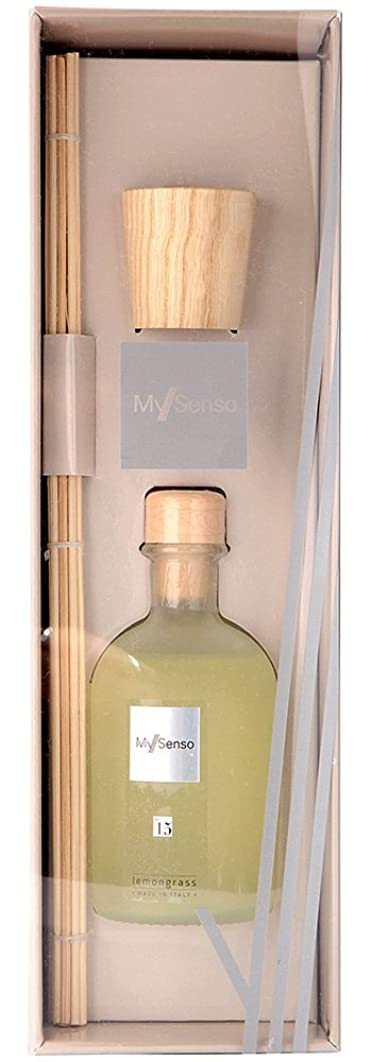 重くする人生を作る酸MySenso ディフューザー No.15 レモングラス