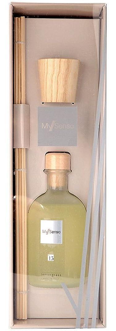 切る飲料学士MySenso ディフューザー No.15 レモングラス
