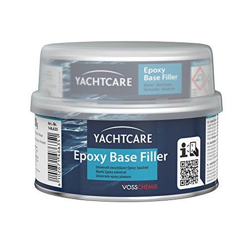 Yachtcare Unisex Base Filler Epoxyspachtel, hellgrau, 500g EU