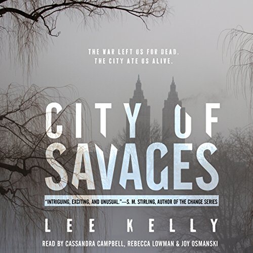 City of Savages audiobook cover art