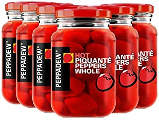 Peppadew Peppers - Hot - Value Bundle of 6 (84 ounce)
