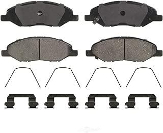 AutoDN FRONT 4PCS PREMIUM Ceramic Disc Brake Pad Set For NISSAN TIIDA 2007-2011