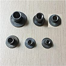 Lkjh Carbon Steel Round Head Noten, M4 M5 M6 M8 M10,100Pcs (Size : M5X8)
