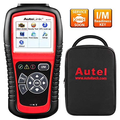 Autel AutoLink AL519 OBD2 Scanner Enhanced Mode 6 Check Engine Code...