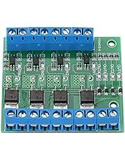 Versterker printplaat, 4-kanaals MOSFET module PLC versterker printplaat driver DC 3,7 V / 27 V, high-power gloeilamp lichtbalk motor accessoires