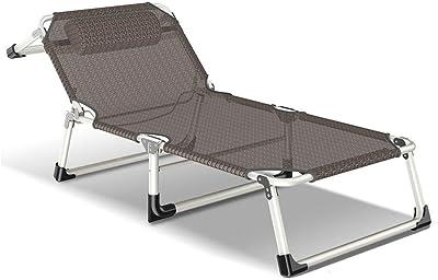 Amazon.com: XEWNG cama plegable cama individual chaise ...