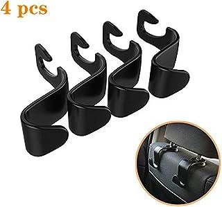Car hook - car seat back hook vehicle Hidden headrest hanger suitable for handbag shopping bag coat 4 PCS