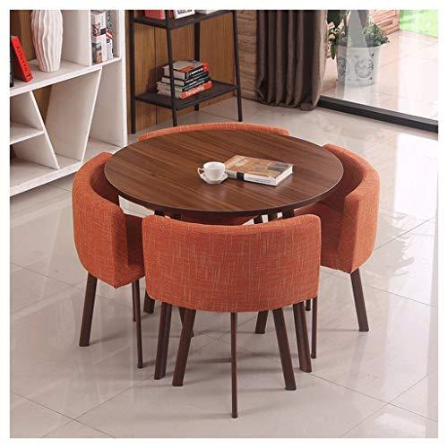 Esstisch und Bürostuhl, Konferenzraum, Restaurant, Tisch und Stuhl Kombination, Cafe Bakery, Balkon, Billardkleidung, Kinozimmer, Schönheitssalon, Küchenzentrum. Orange