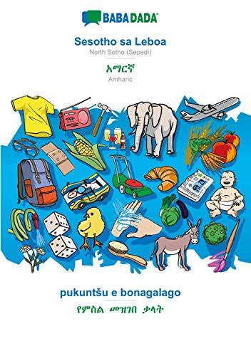BABADADA, Sesotho sa Leboa - Amharic (in Ge¿ez script), pukuntSu e bonagalago - visual dictionary (in Ge¿ez script): NorthSotho(Sepedi) - Amharic (in Ge¿ez script), visual dictionary