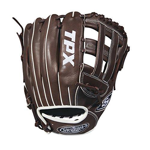 Louisville Slugger 2018 Tpx Infield Baseball Glove - Right Hand Throw Dark Brown/White, 11.75'
