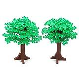 Feleph Grün Großen Baum Bausteine Blöcke Spielzeug 6,7 Zoll Hohe Klassische Wald Gartenpflanze...