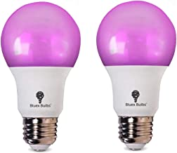 2 Pack BlueX 100W LED Grow Light Bulb A19 Bulb - Full Spectrum Grow Lamp - Grow Healthier & Yield Better Harvests for DIY Indoor Plants, Flowers, Greenhouse, Indore Garden, Hydroponic