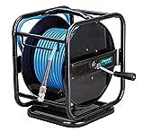 Stürmer 2105831 DST 8/31 Enrouleur de tuyau pneumatique 30 m rotatif à 360° Protection anti-pliage avec joint de tissu