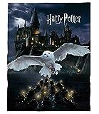 kuschelige Flauschdecke Fleecedecke Harry Potter · 150 x