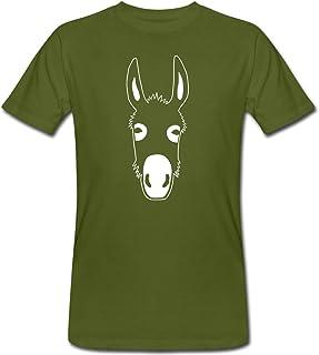 Esel Shirt Damen Tier Lustig Teenager M/ädchen T-Shirt Cartoon Druck Sommer Locker Oberteil Bedruckets Tee Tops Shirt L/ässiges T Shirt