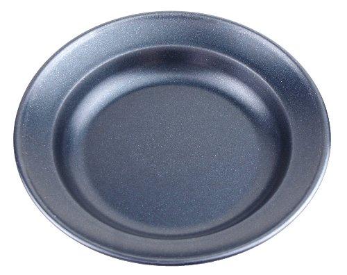キャプテンスタッグ(CAPTAIN STAG) キッチン用品 カレー皿 丸型 ブルーブラックコートUH-4