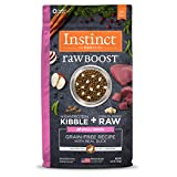 Instinct Raw Boost Small Breed Grain Free Recipe with Real Duck Natural Dry Dog Food by Nature's Variety, 4 lb. Bag