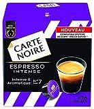 Carte Noire Espresso Intense 128 G - Lot De 3 X 16 Capsules Compatibles Avec Le Système Nescafé Dolce Gusto*