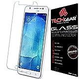TECHGEAR Galaxy J5 Verre, Protecteur d'Écran Original en Verre Trempé Compatible pour Samsung...