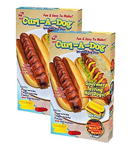 Curl A Dog Spiral Hotdog Slicer 2 Pack