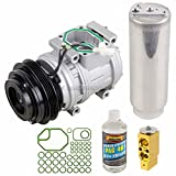 AC Compressor & A/C Kit For Toyota Tacoma & Tundra 3.4L V6 - Includes Drier Filter, Expansion Valve, PAG Oil & O-Rings - BuyAutoParts 60-80116RK New