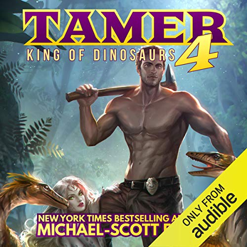 Couverture de Tamer 4: King of Dinosaurs
