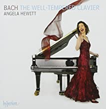 Bach: The Well-tempered Clavier by Angela Hewitt (2007-09-11)