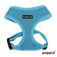 puppiapuppia正規販売店 pdcf-ac30胴輪 ソフトメッシュハーネス サイズ XS S M L S,S.BLUE