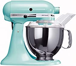 KitchenAid Artisan 4.8L 300W Stand Mixer-Ice Blue (Model:5KSM150PSEIC)